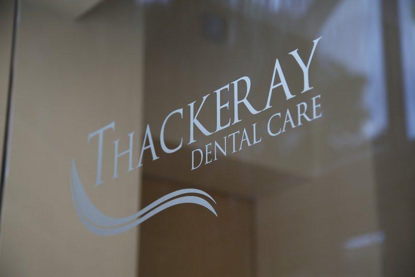 thackeray dental care sign mansfield