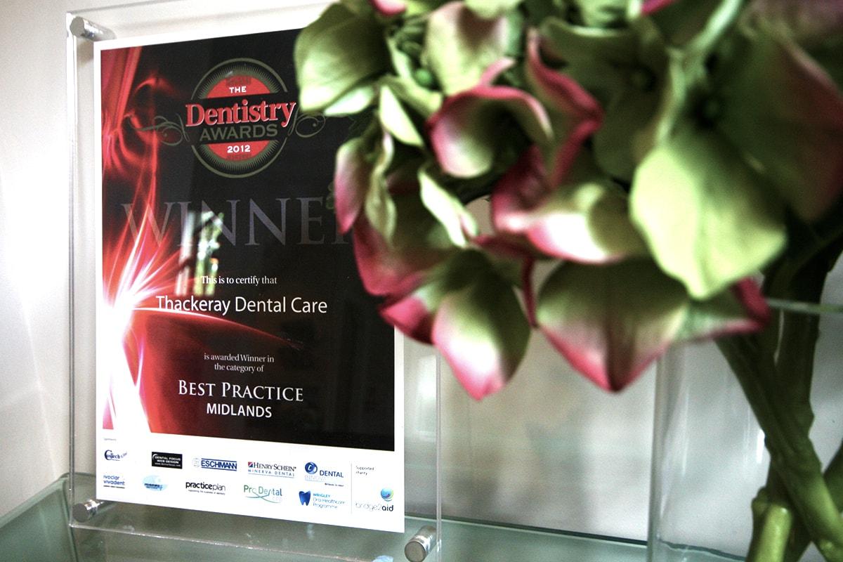 thackeray dental care award winning dentist mansfield