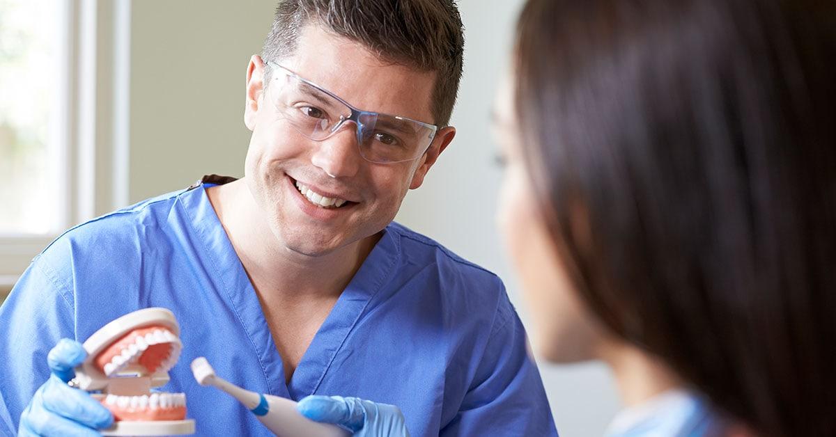 Dental hygiene advice from Thackeray Dental Care in Mansfield